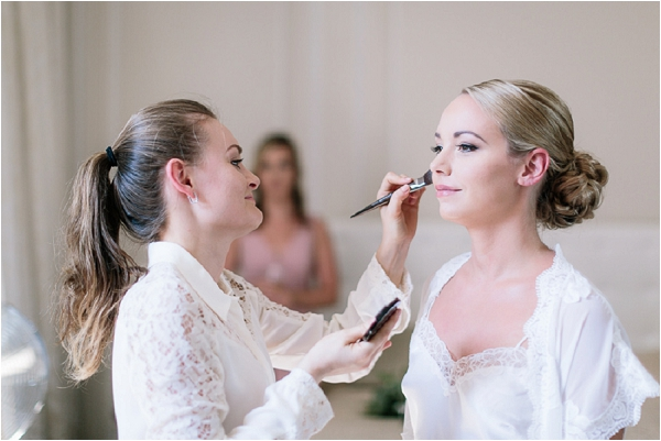 Honorine Bridal Make up and hair | Image by Ian Holmes Photography