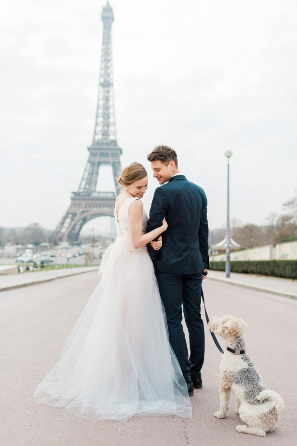 Paris couple with Pet