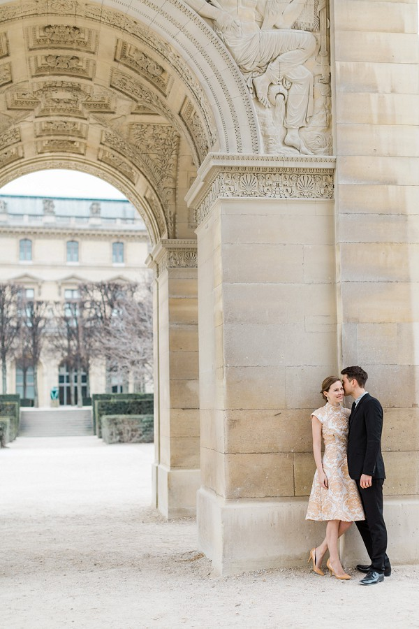 Parisian wedding shoot