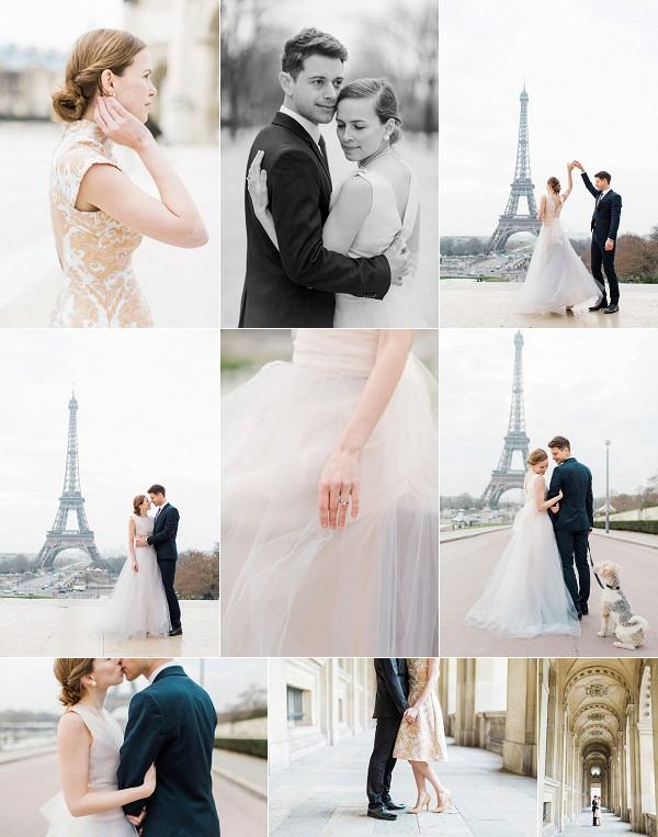 Romantic Eiffel Tower Anniversary Shoot Snapshot