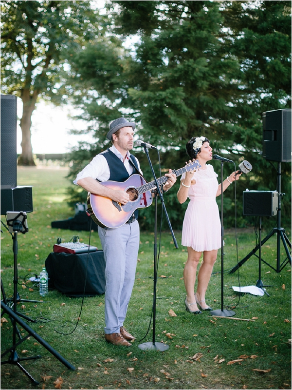 The Little Soul Club wedding music | Image by Ian Holmes Photography