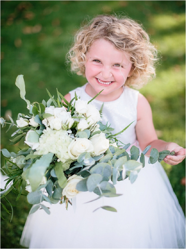 cute flowr girl ideas | Image by Ian Holmes Photography