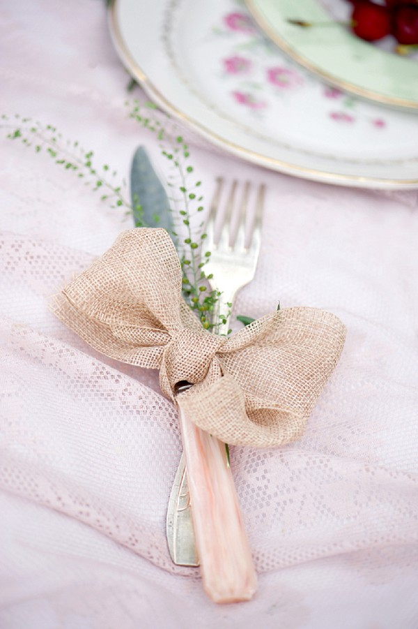 pretty wedding details