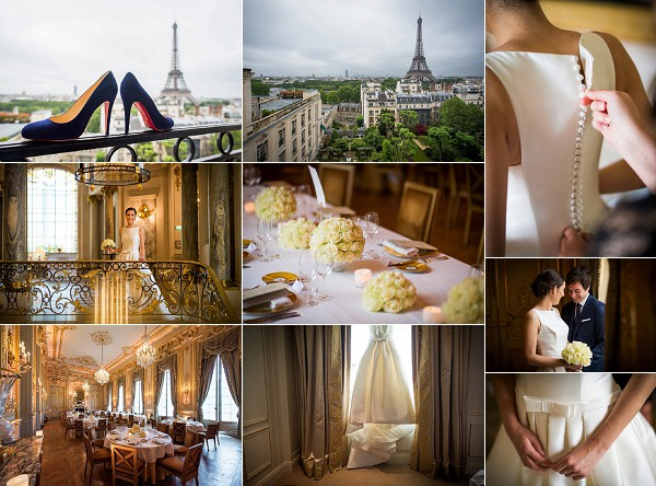 A Destination Shangri La Wedding in Paris Snapshot
