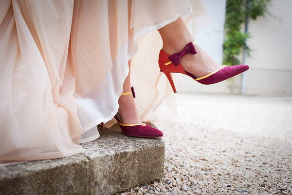 Bow Wedding Heels