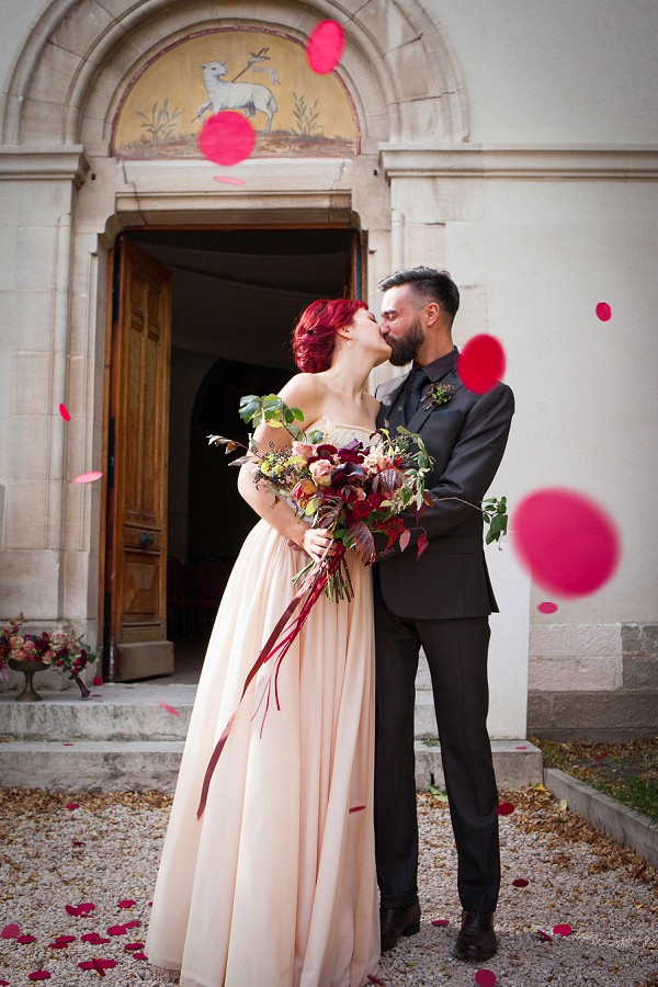 Burgundy Wedding Colour Palette