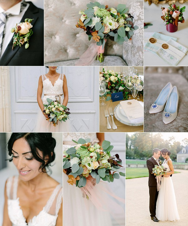 Fine Art Chateau de Jalesnes Wedding Inspiration Snapshot