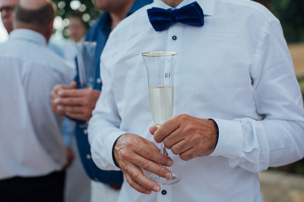 French bow tie wedding