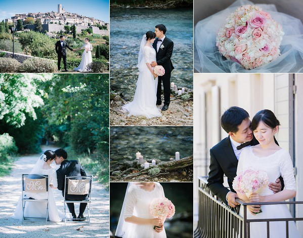 Intimate Provence Inspired Real Wedding Snapshot