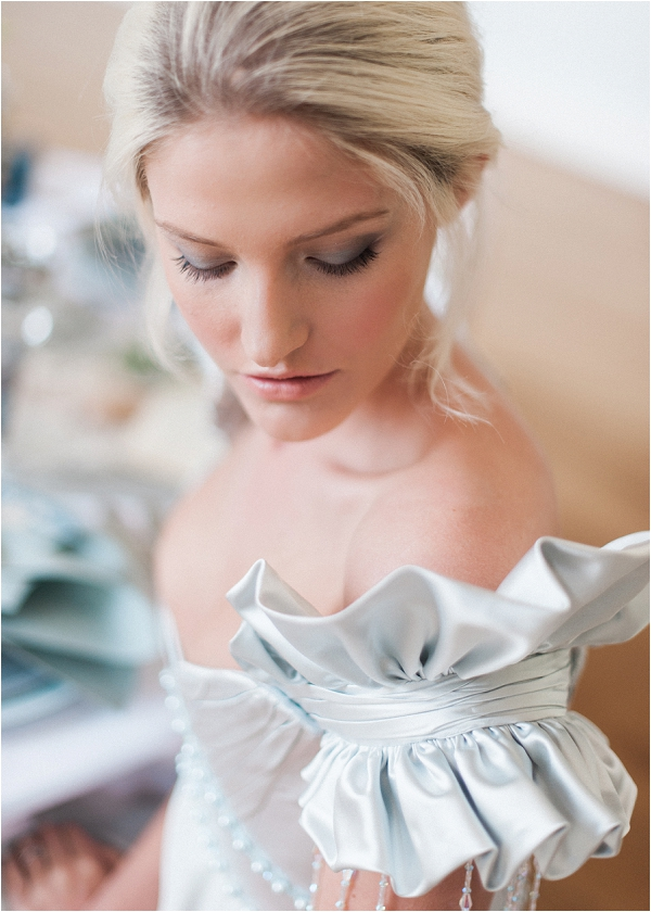 natural bridal beauty by Make up Artist in France Mel Kinsman, image by Kate Nielen Photography