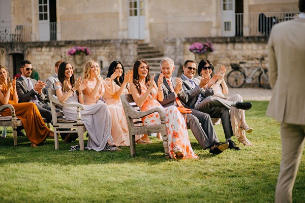 Outdoor French Wedding Ceremony