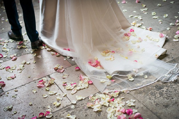 Rose Petal Wedding Confetti