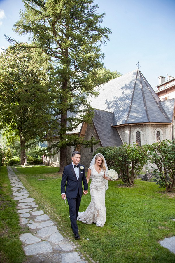 Chamonix Summer Wedding