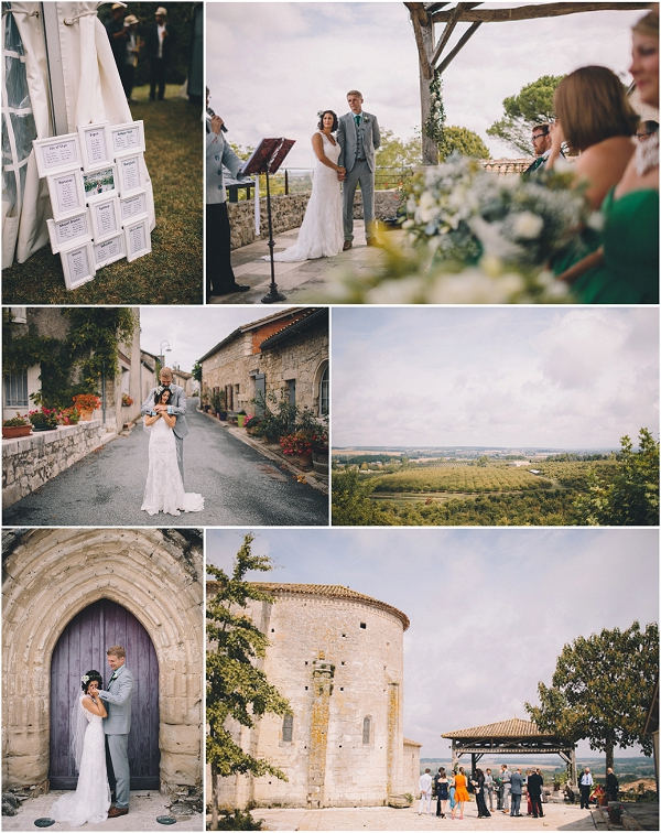Rural Wedding in South West France, image by Blondie Photography