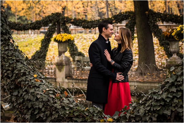 Engagement Photoshoot in Paris | Image by Shantha Delaunay