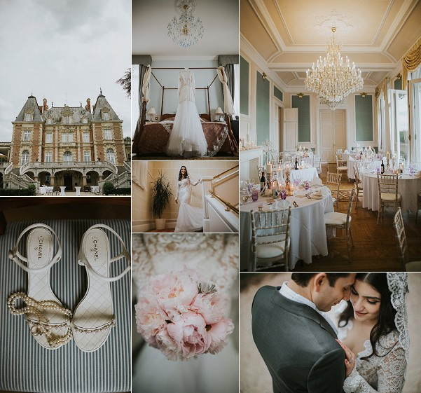 French Elegance Château Bouffémont Wedding Snapshot