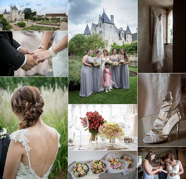 Loire Valley Destination Chateau Wedding Snapshot