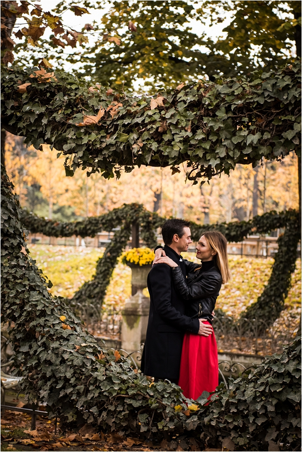 Paris engagement shoot | Image by Shantha Delaunay