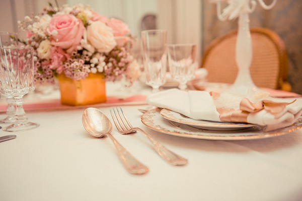 Pastel pink wedding theme
