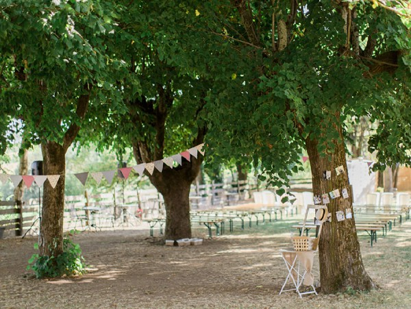 Rustic Countryside Wedding Details