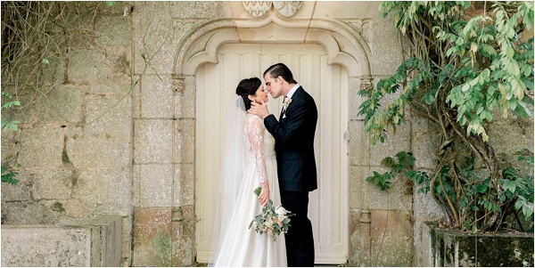 Short lead time wedding in France, image by B Flint Photography