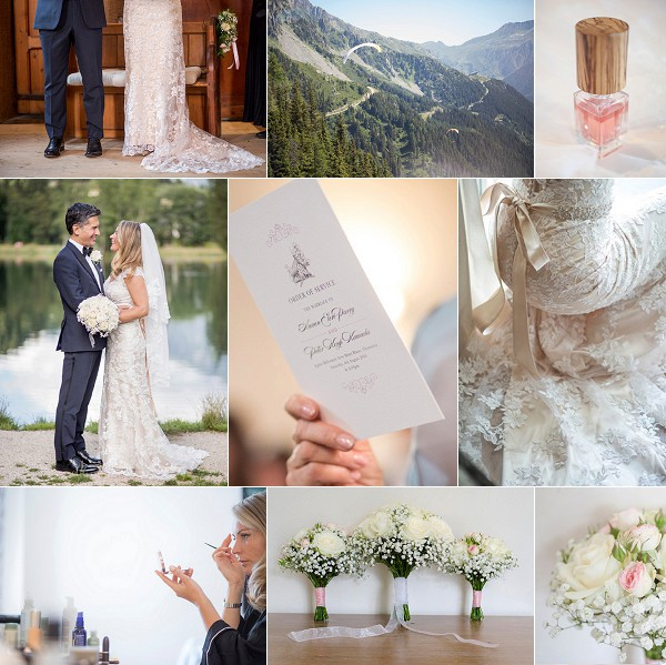 Summer Mountain Top Chamonix Weekend Wedding Snapshot