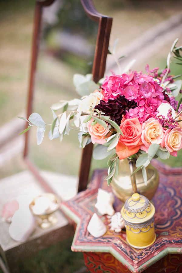 asia inspired wedding details