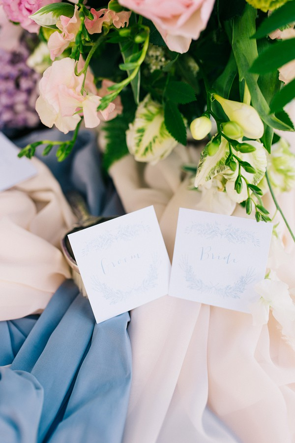 bride and groom wedding table names