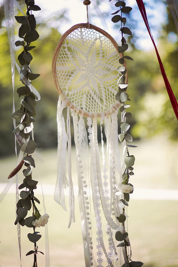 dream catcher wedding day