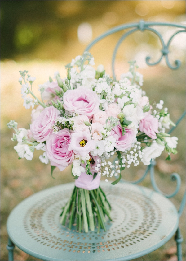 pretty pastel wedding bouquet, image by Hannah Duffy Photography