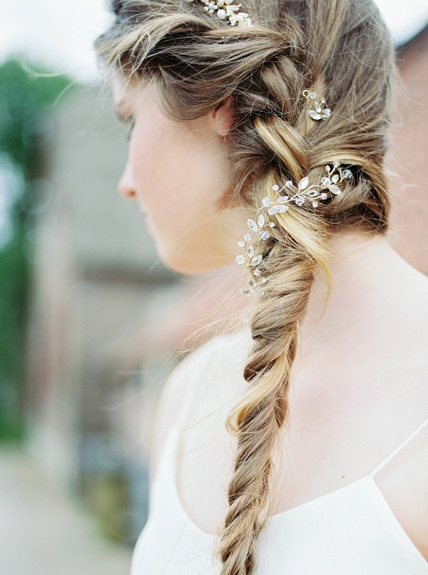 wedding day braid