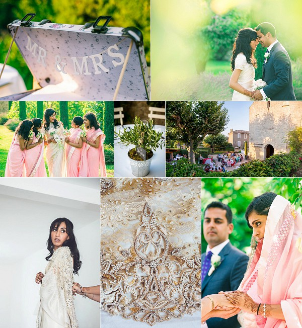 Abbaye Saint Eusèbe Multi Cultural French Wedding Snapshot