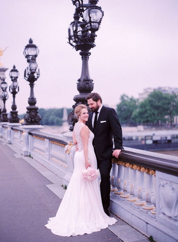 Black Tie Wedding Paris