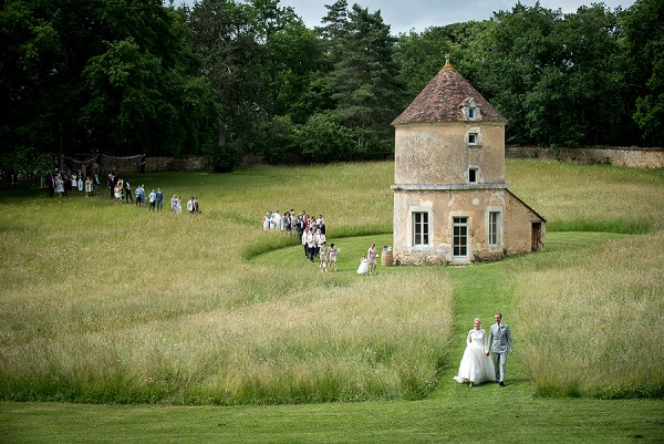 Domaine de la Léotardie Real Wedding