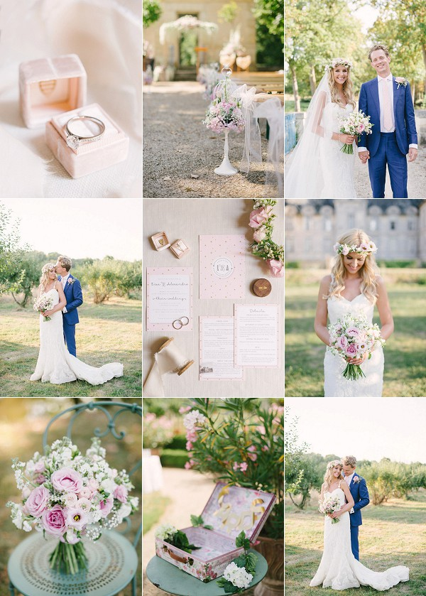 Fairytale French Chateau de Saint Loup Wedding Snapshot