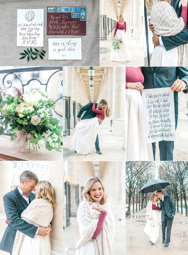 Le Palais Royal Paris Anniversary Shoot Snapshot