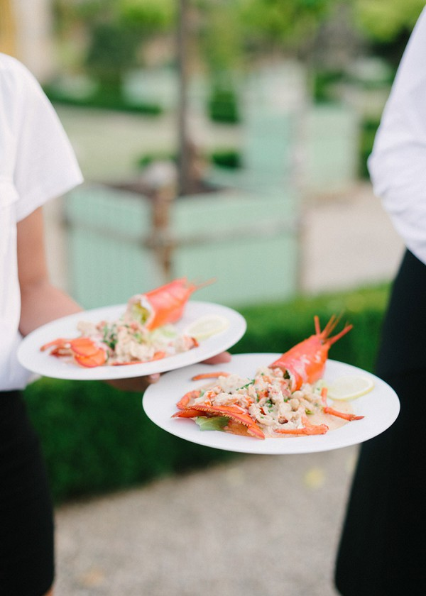 Lobster Wedding Meal