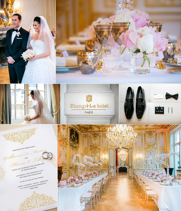 Luxury Hotel Le Marois Real Wedding Snapshot