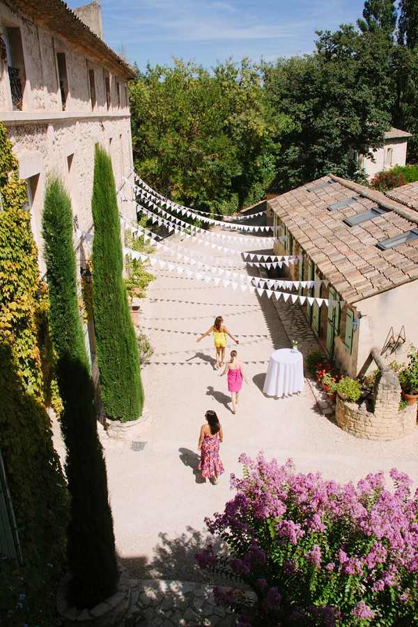 Moulin de la Roque Provence Real Wedding