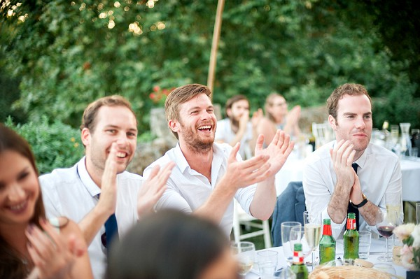 Outdoor wedding speech