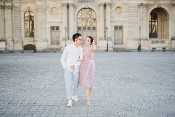Pastel outfits engagement