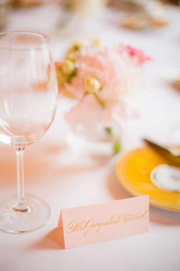 Pretty pink Paris wedding