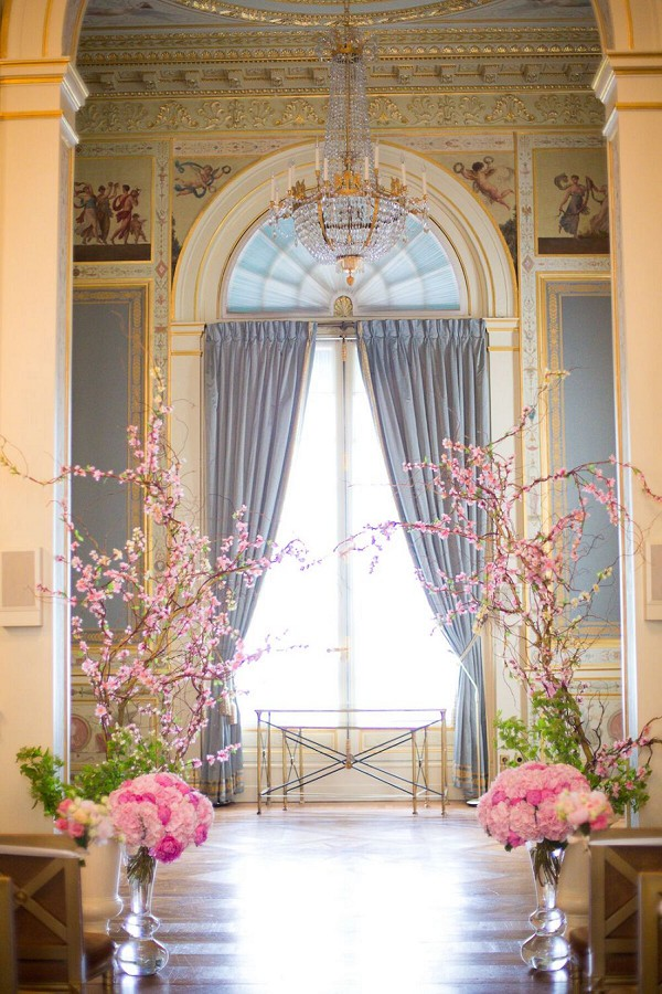 Romantic Destination Shangri La Paris Wedding