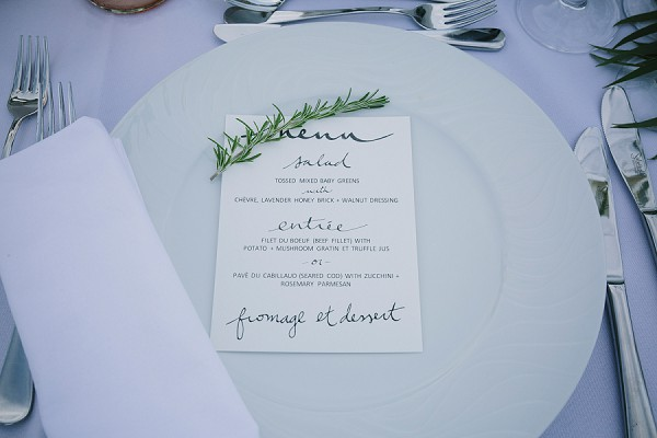 Rosemary Wedding details
