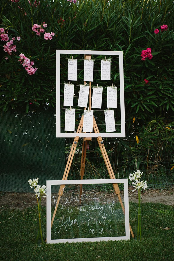 Seating Plan Wedding