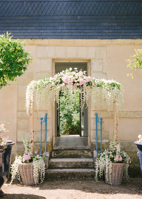Stunning French Wedding Flowers
