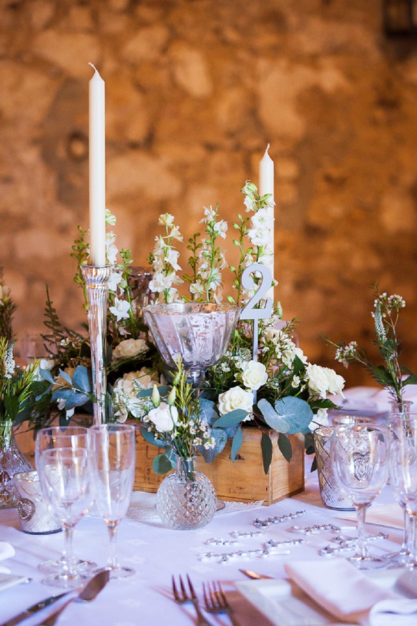 rustic chic table decor