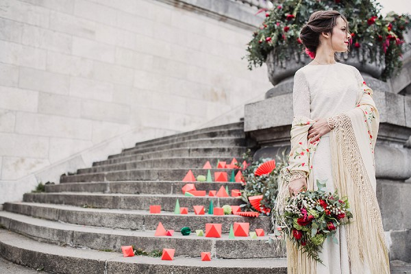 Ballet Inspired Wedding Paris