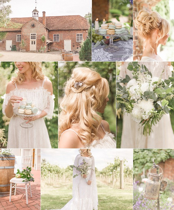 French Vineyard Vintage Inspired Wedding Shoot Snapshot
