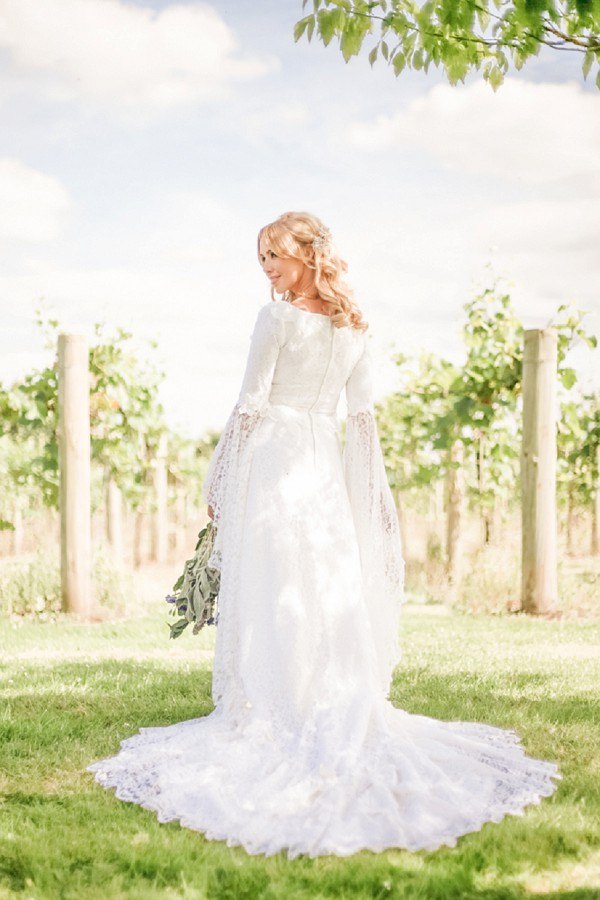 French Vineyard Vintage Inspired Wedding Shoot